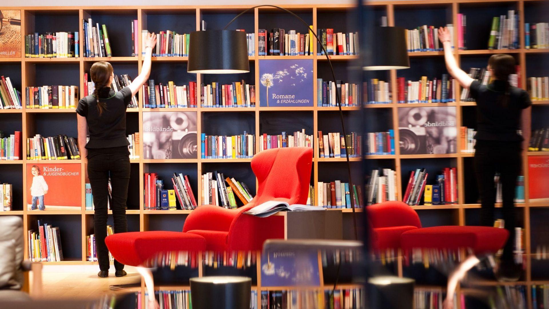 Silbensalon - reichhaltige Bibliothek beim daberer