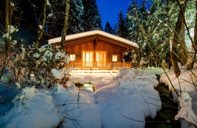 daberer.forest.wellness with forest sauna